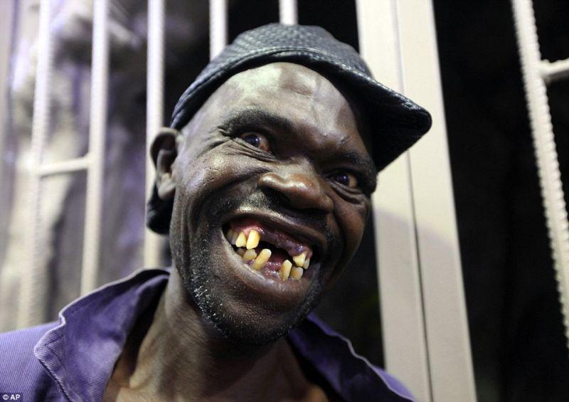 Победитель конкурса на звание самого уродливого мужика в Зимбабве