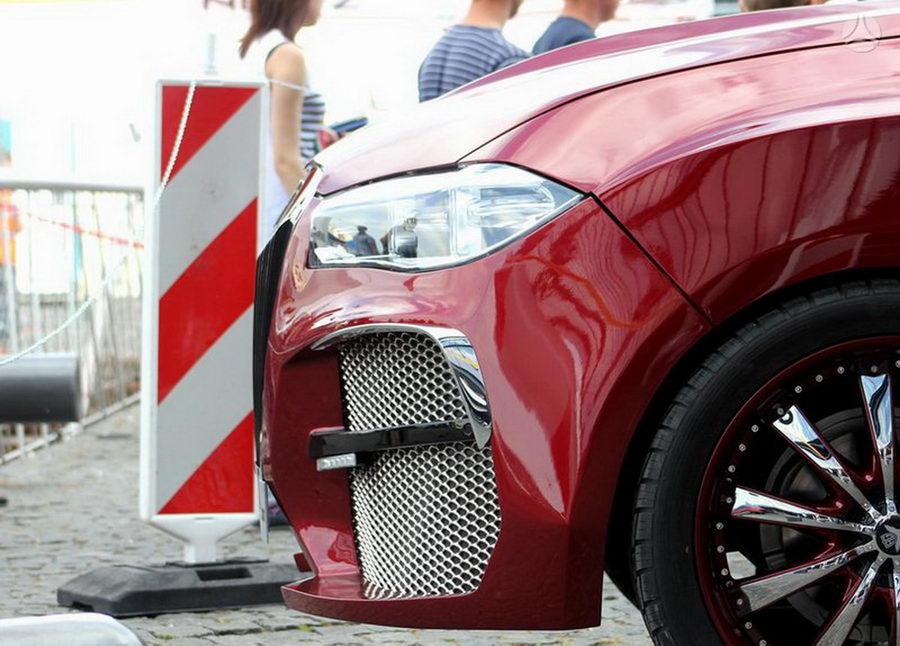 Литовский «аллигатор» BMW X6