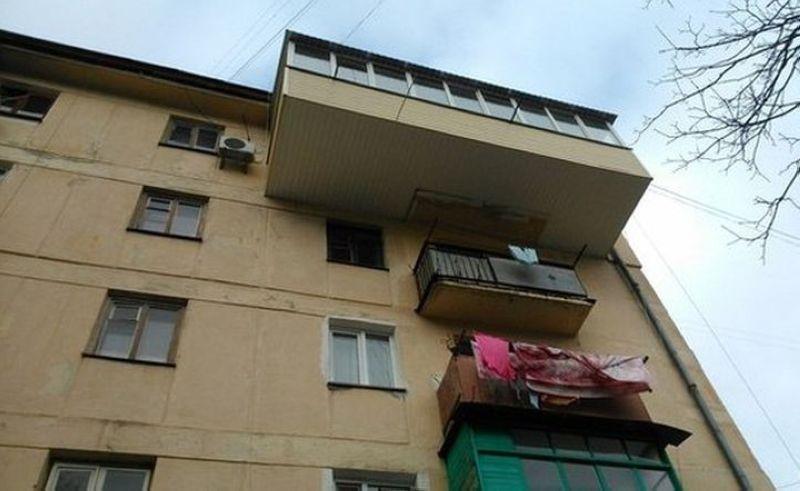 Шедевральные балконы - европласт кременчуг.