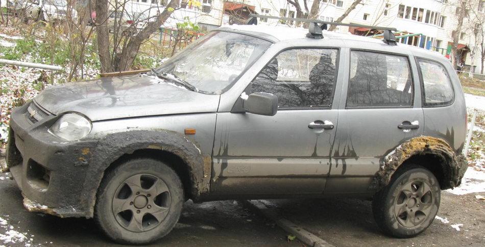 Адский тюнинг Chevrolet Niva