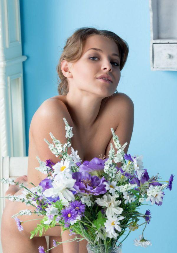 Цветы красивые...
