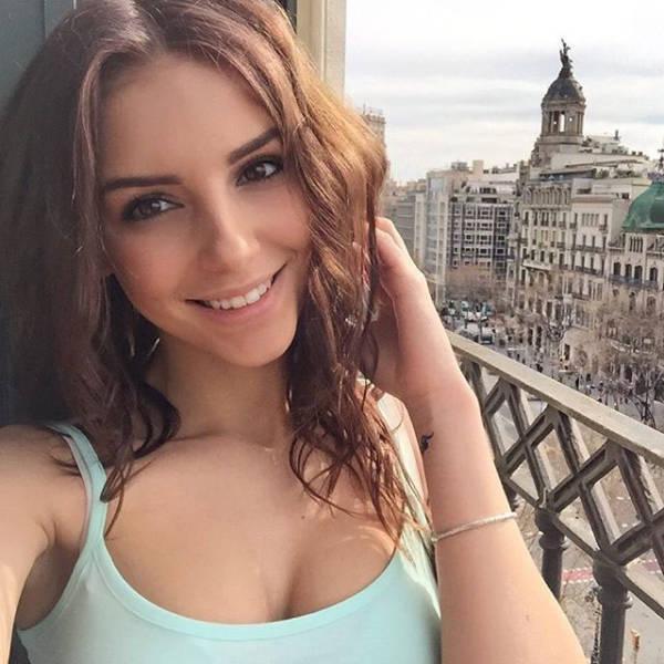 От природы красивые девушки