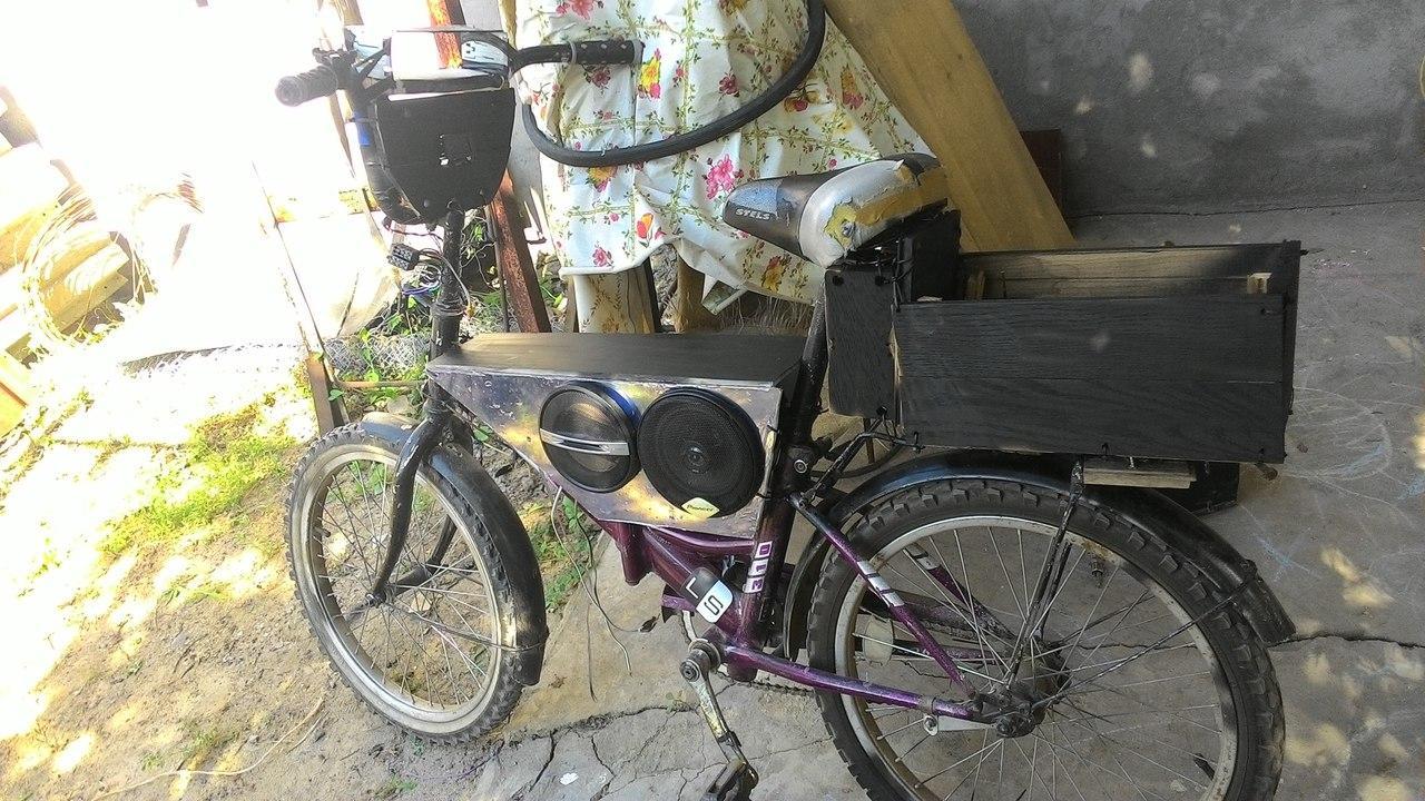 картинки колонки на велосипеде примадонны