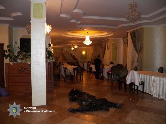 В Ровенской области свадьба закончилась массовой дракой со стрельбой