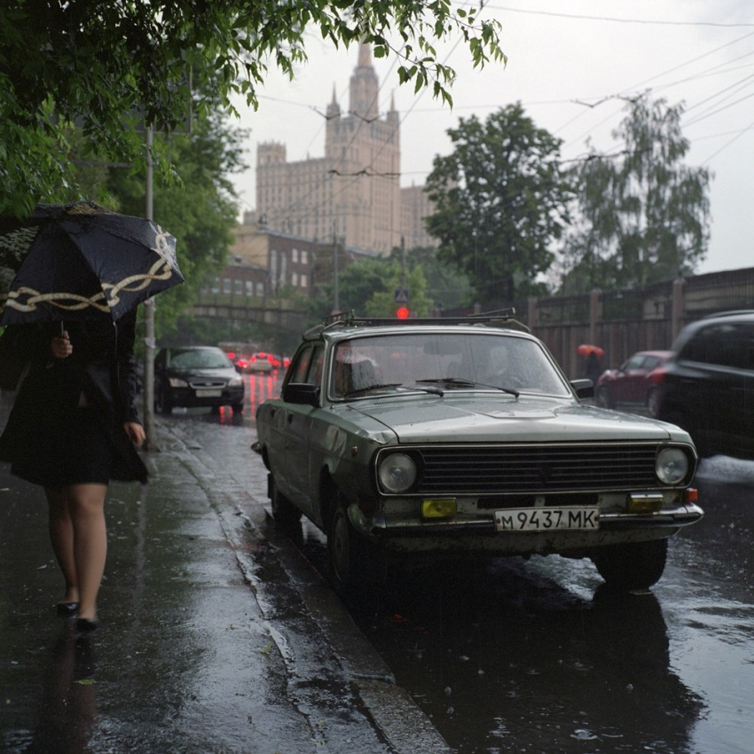Машины из советского прошлого