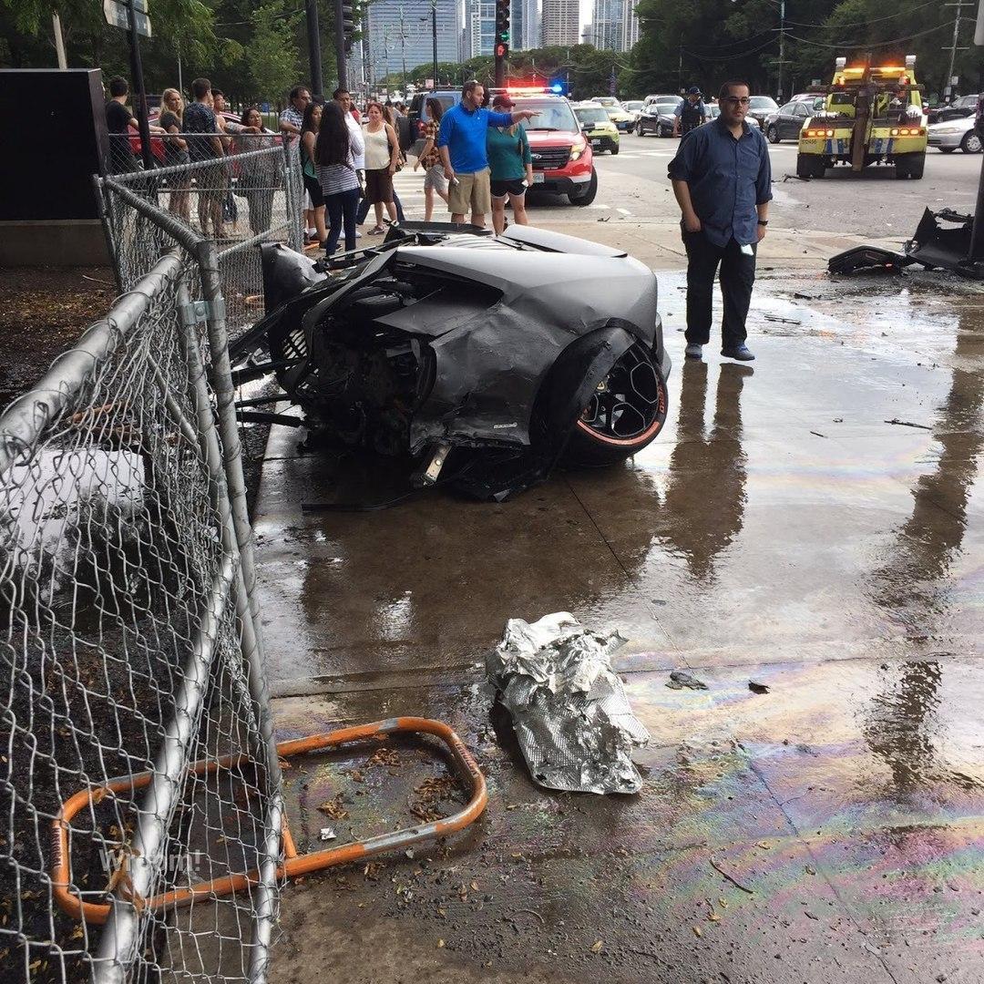 В Чикаго порвался суперкар