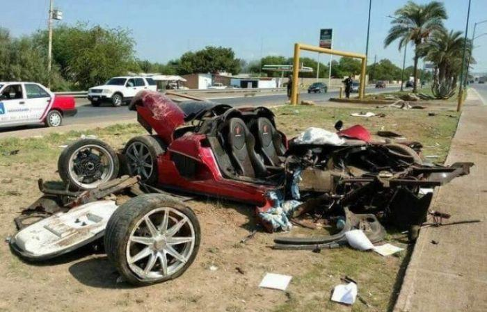 В Мексике разбили суперкар Koenigsegg CCX