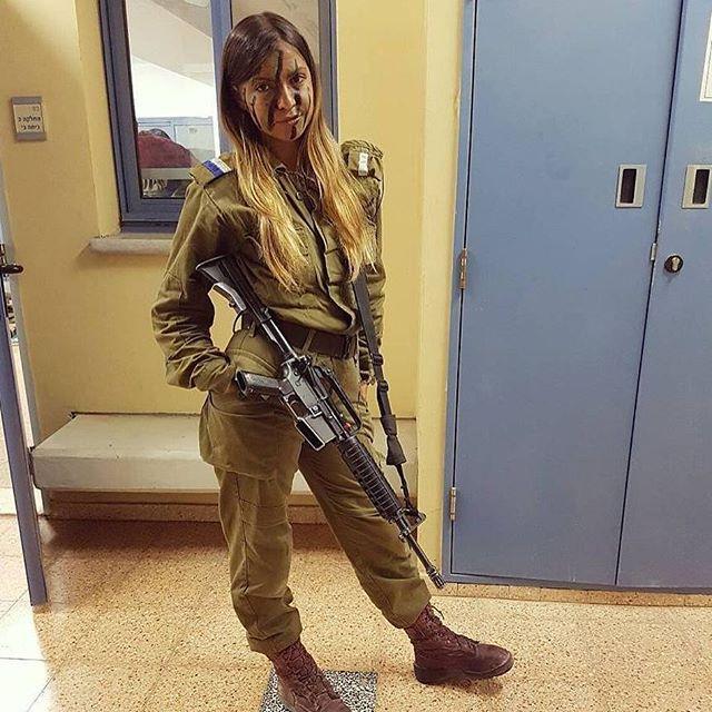 Красавицы армии обороны Израиля