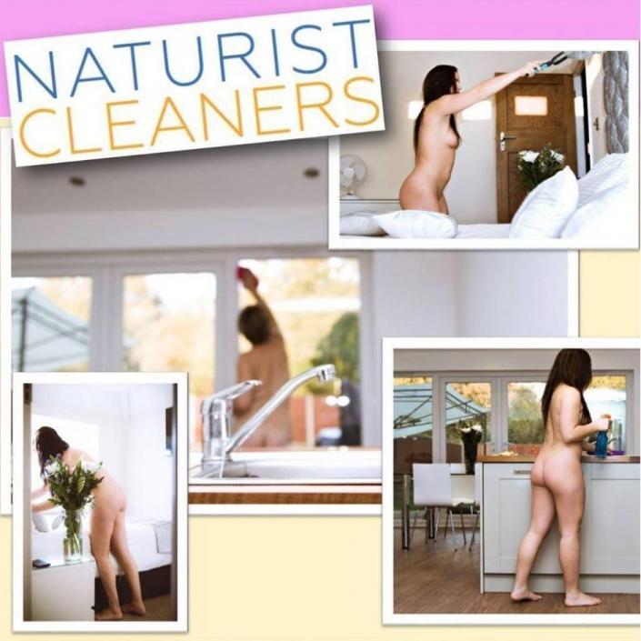 Британский сервис по уборке ищет сотрудниц, которые готовы работать голыми