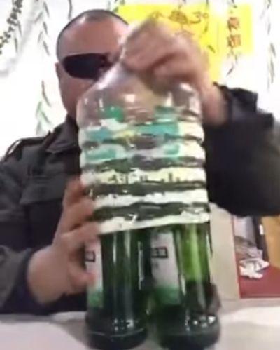 Говорят, пиво в пластике запретили. Ноу проблем!