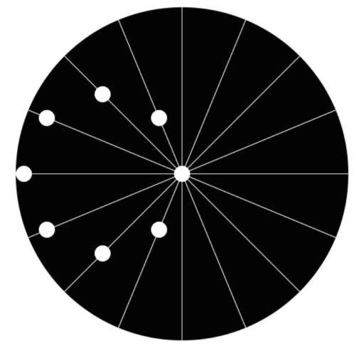Эта простая гифка с вращающимися точками взорвет ваш ум