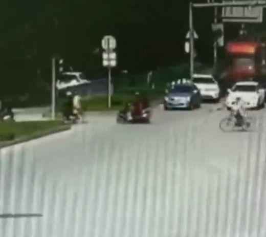 Ужасная авария в Китае