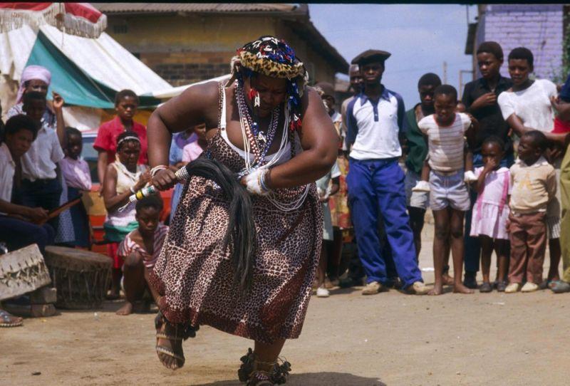 Африканская колдуны сангома