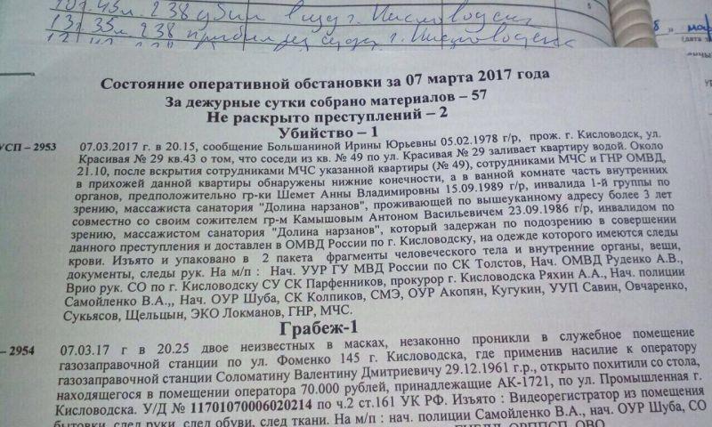 Ужасы в Кисловодске