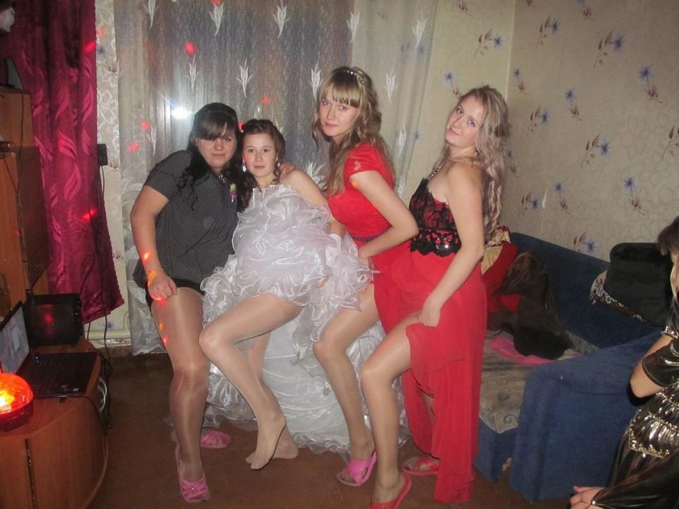 русские студентки на свадьбе - 11