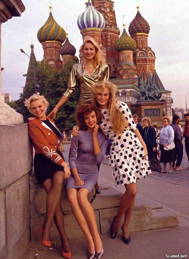 1989 год. Русские девушки для журнала Playboy