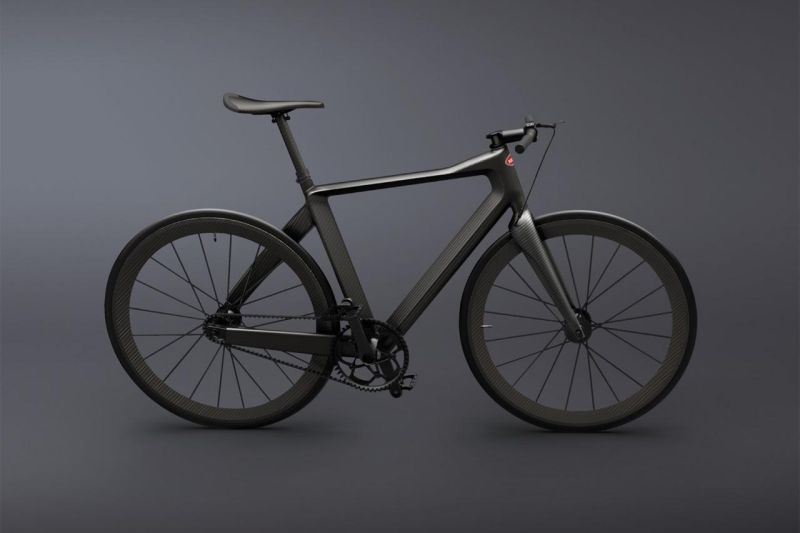 Солидный велосипед для солидных господ