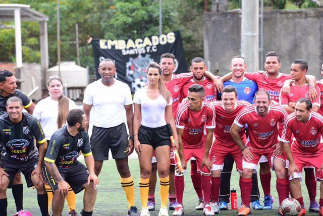 Девушка-судья из Бразилии стала главной звездой матча
