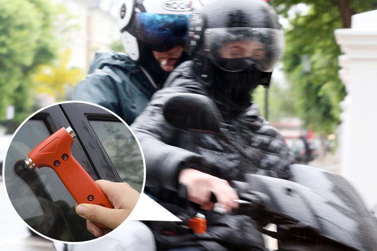 Налётчики на скутерах терроризируют Лондон