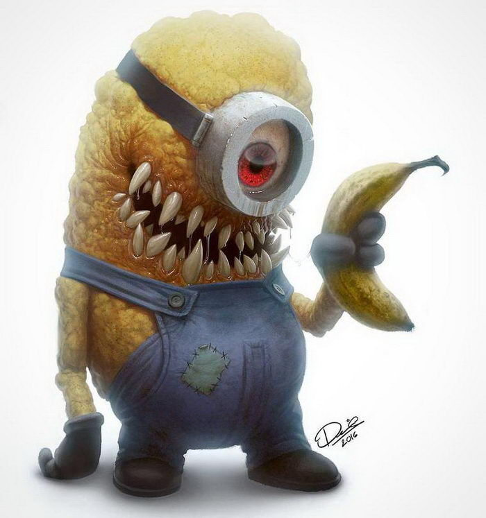 Очень страшные зомби-мультгерои