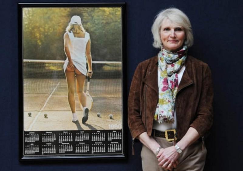 Самая продаваемая фотография в истории: голая теннисистка