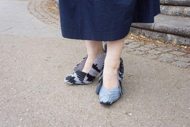 Туфли-голуби