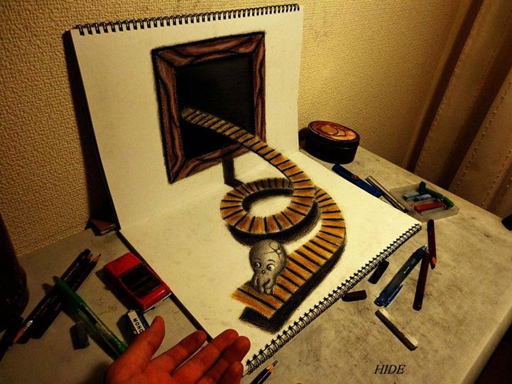 Реалистичные 3D-рисунки