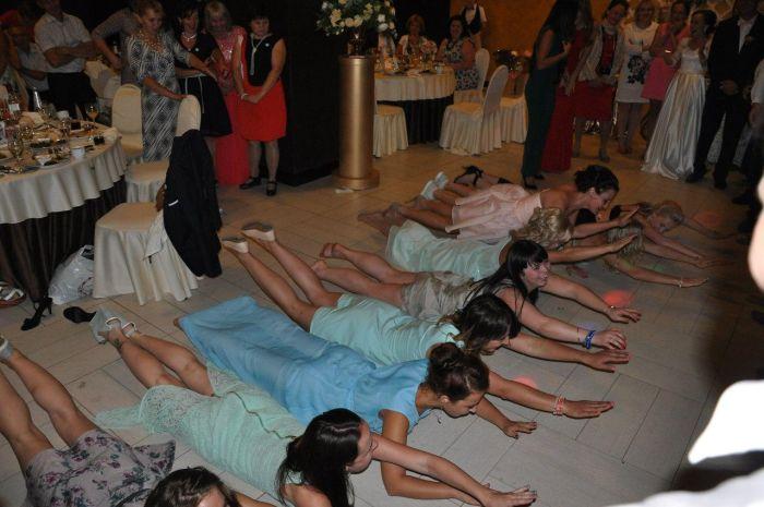 На русских свадьбах