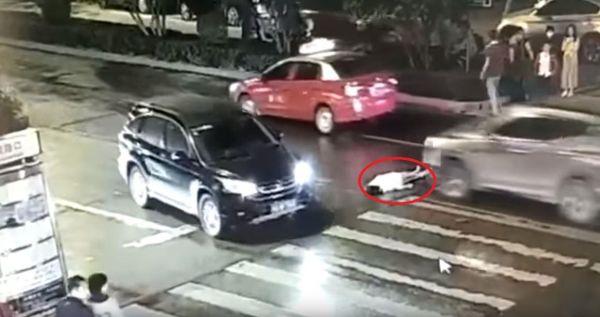 Двойное ДТП в Китае с одной жертвой