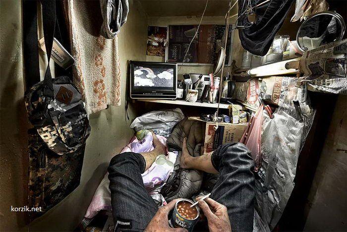Микро-квартиры Гонконга