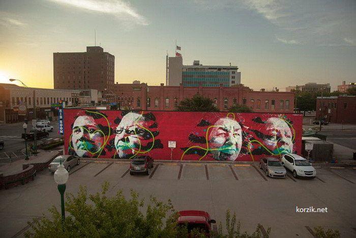 Уличное искусство в Арканзасе