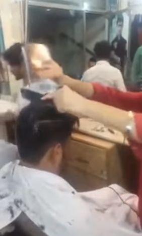 Как стригут в Индии