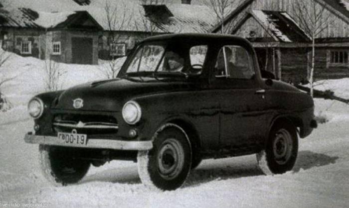 Советский безызвестный внедорожник