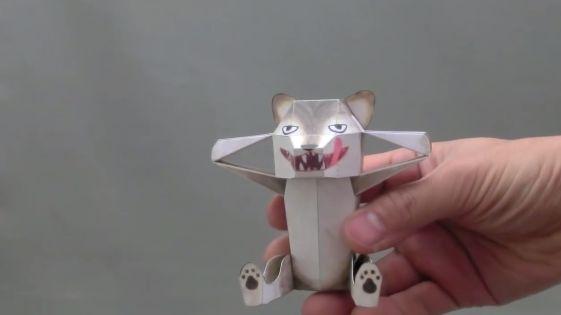 Классные оригами-трансформеры от японского мастера
