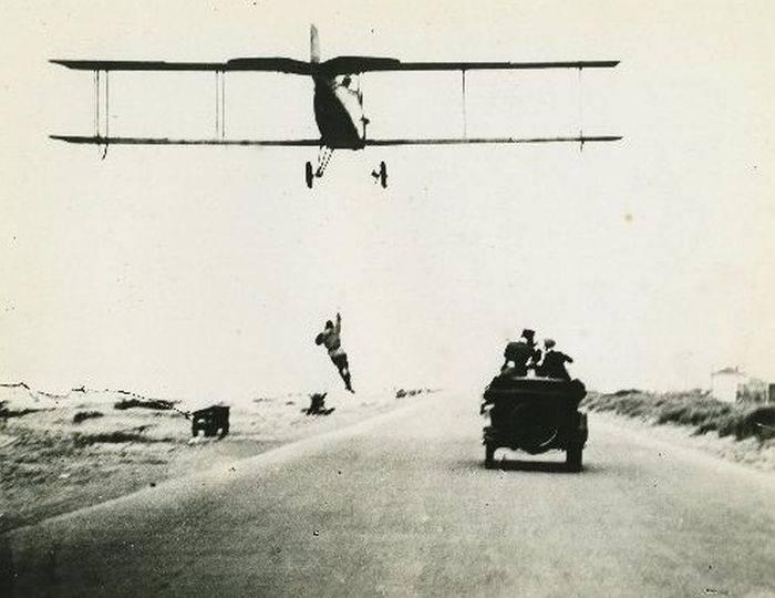 Ретро фотографии каскадеров 1920-х годов