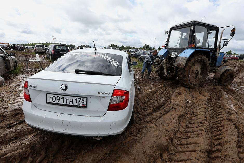 Трактористы отлично заработали на «Нашествии»