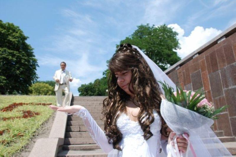 Свадебные кошмары - Невеста на ладошке!