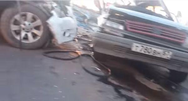 Кошмар на дороге под Курском