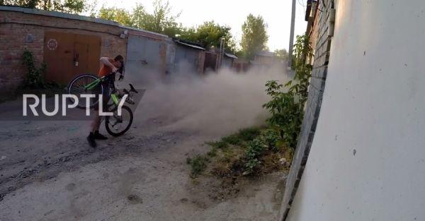 Остались умельцы в наших селеньях: ростовчанин собрал реактивный велосипед
