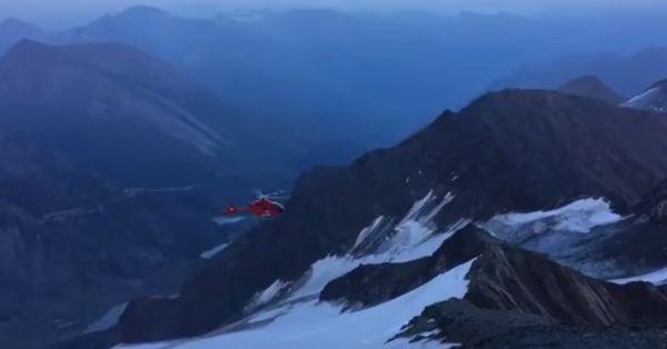 Аварийный вылет вертолета в Австрии