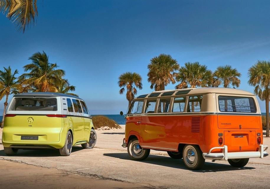 Volkswagen представил мечту хиппи из 60-х с электрическим двигателем