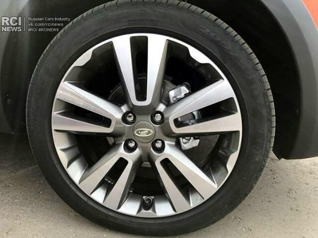 В Сети оказались новые фото универсала Lada Vesta в топовой комплектации