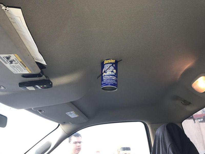 Не оставляйте в машине на жаре, различные спреи и аэрозоли