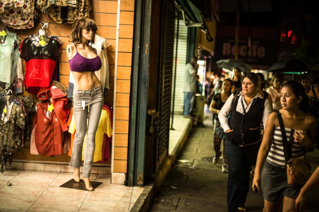 По-настоящему красивые манекены можно встретить только в Венесуэле