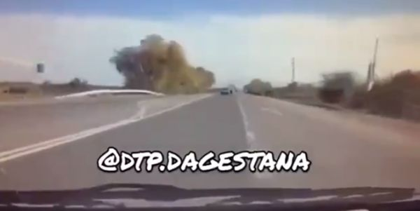 Лобовое столкновение в Дагестане