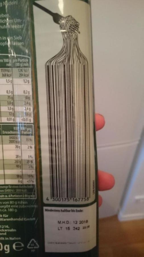Как креативно обыграть штрих-код на упаковке