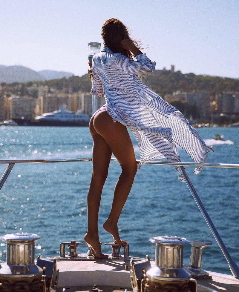 Виктория Одинцова на снимках из Instagram