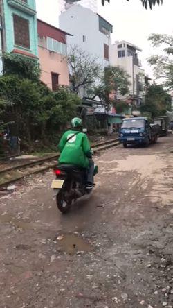 Обычный штраф за неправильную парковку во Вьетнаме