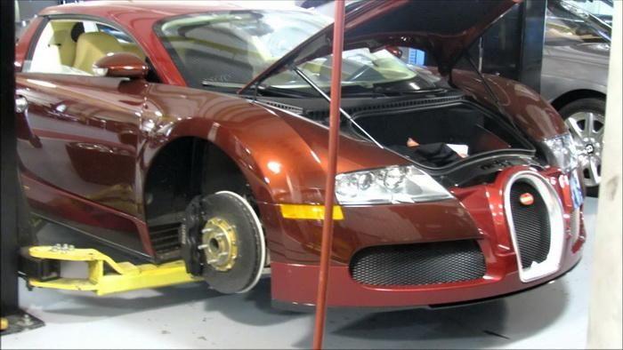 Сколько стоит техобслуживание Bugatti Veyron
