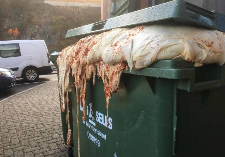 Пиццерия выбросила негодное тесто и напугала местных жителей